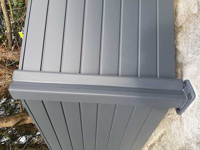 Pose d''une clôture en aluminium sur muret pierre- Trégueux - 22 20210119141037