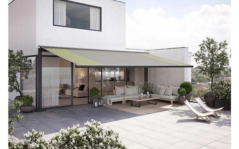 Store- terrasse et balcon pour espaces libres 06088549