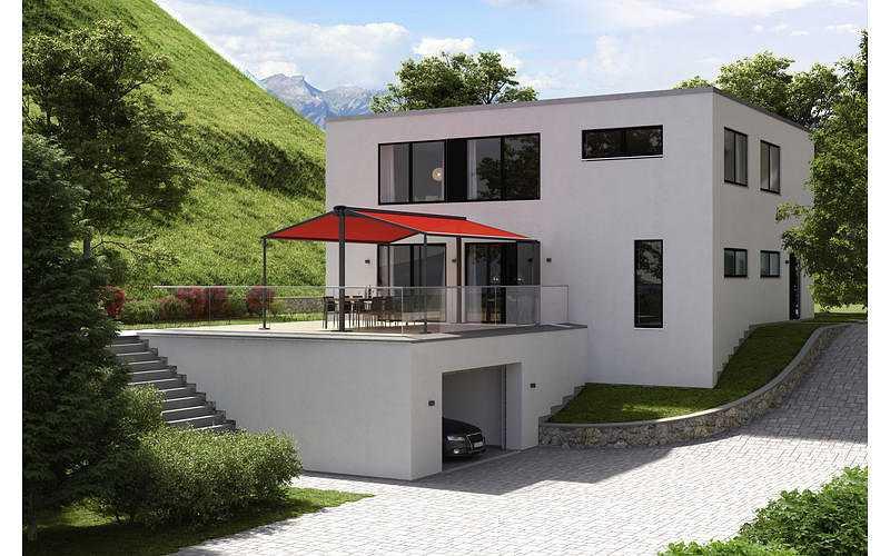 Store- terrasse et balcon pour espaces libres 06088557