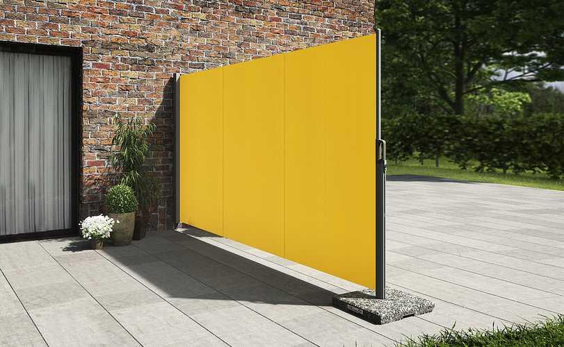 Store latéral pour terrasse et balcon- brise vue en toile 0