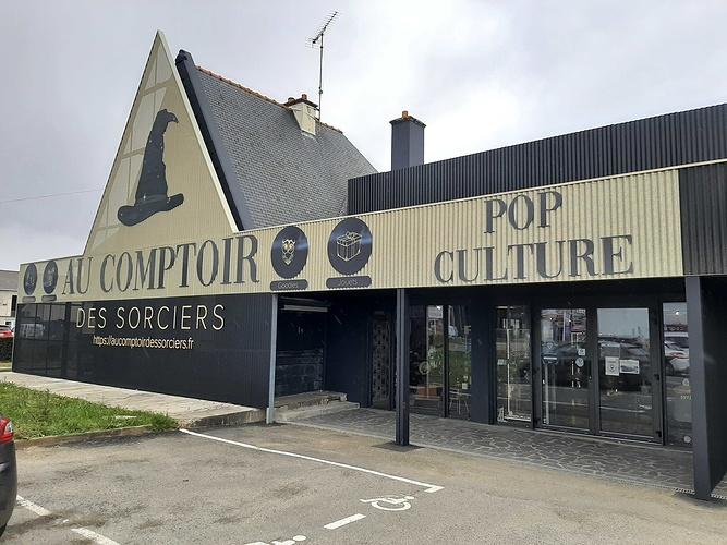 """Réalisation d''une façade de magasin """"Au comptoir des Sorciers"""" Harry Potter- Hillion 20210303133926"""