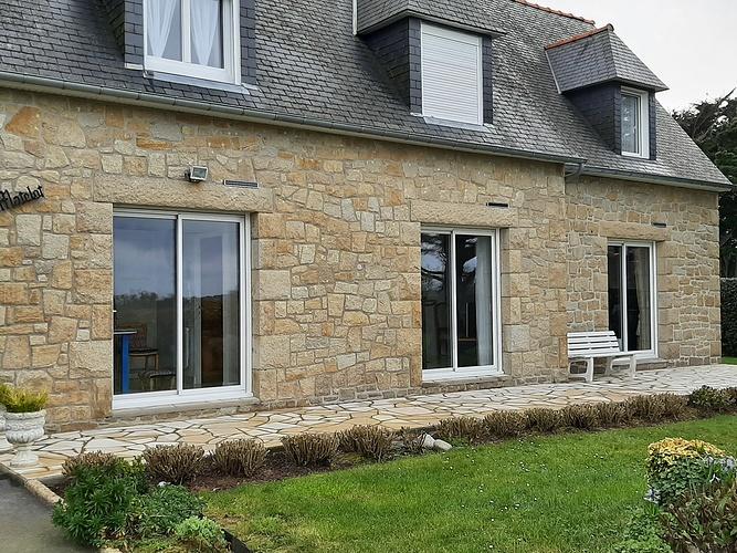 Menuiseries alu - maison en pierre bord de mer - Fréhel 20210311135822