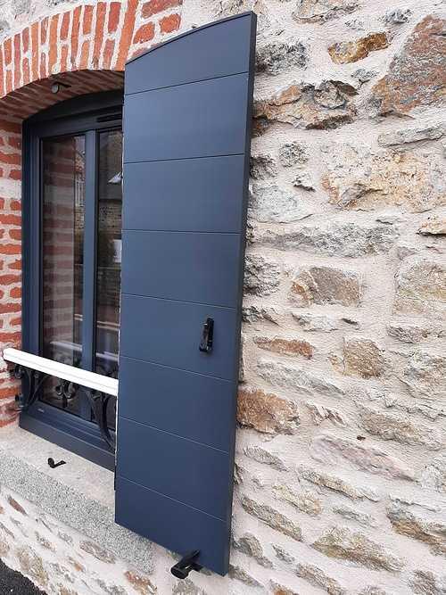 Remplacement menuiseries et volets battants bois par de l''aluminium - Pléneuf Val André 20210603161913
