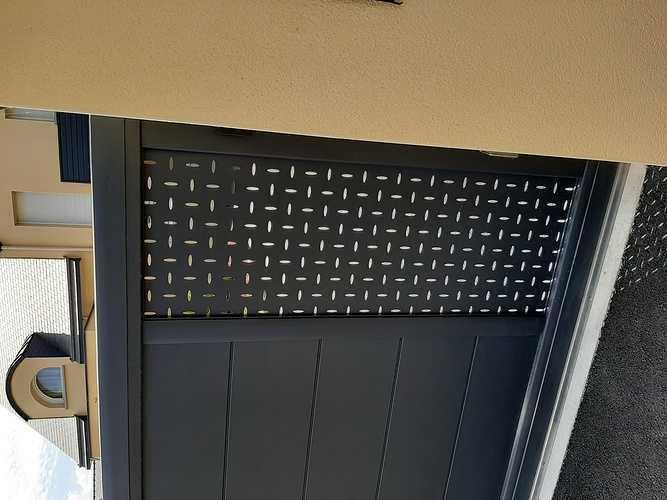 Remplacer portillon et portail en PVC par coulissant en aluminium - Pléneuf Val André 20210609161121