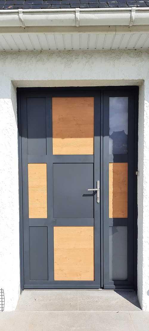 Porte d''entrée ALUMINIUM -Planguenoual 202107151049111