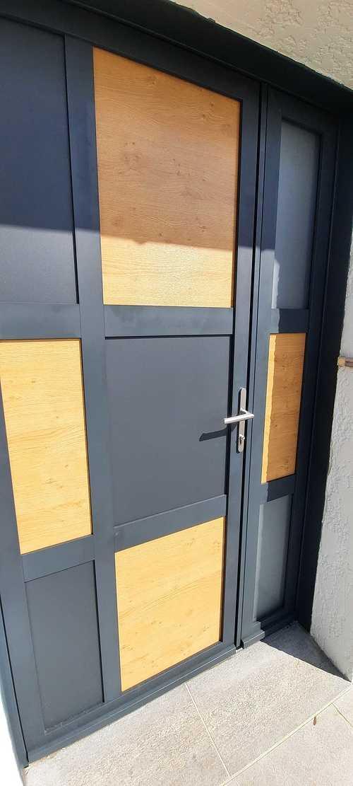 Porte d''entrée ALUMINIUM -Planguenoual 202107151049371