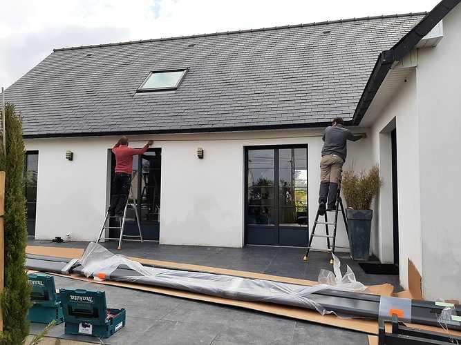 Supprimer le parasol- intégrer protection solaire sur terrasse - Pordic 20210525093308
