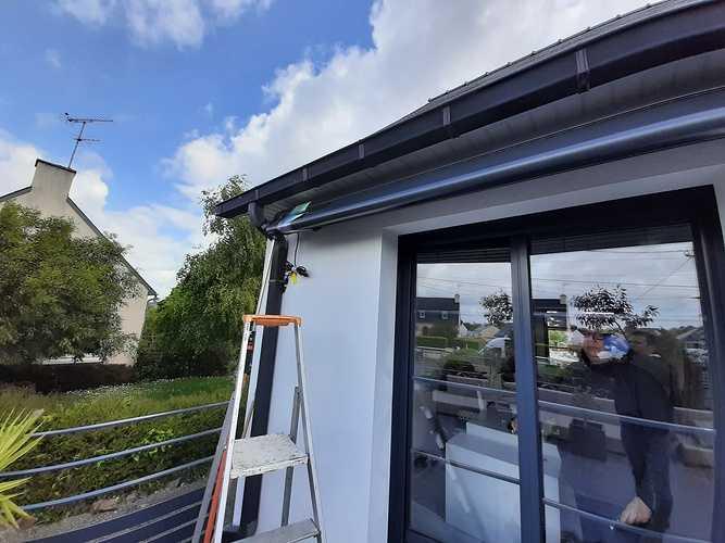 Supprimer le parasol- intégrer protection solaire sur terrasse - Pordic 20210525121538