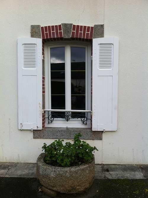 Fenêtre PVC -Cintre surbaissé - Menuiserie - Plérin(22 - Bretagne) 0