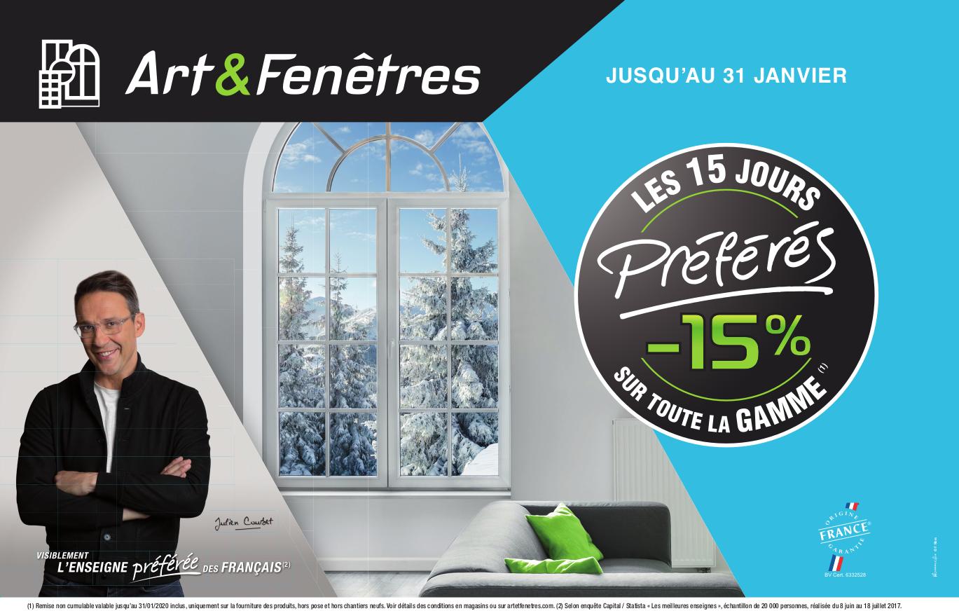 Art Et Fenetre Caudan 15 % sur toute la gamme art & fenêtres (1)