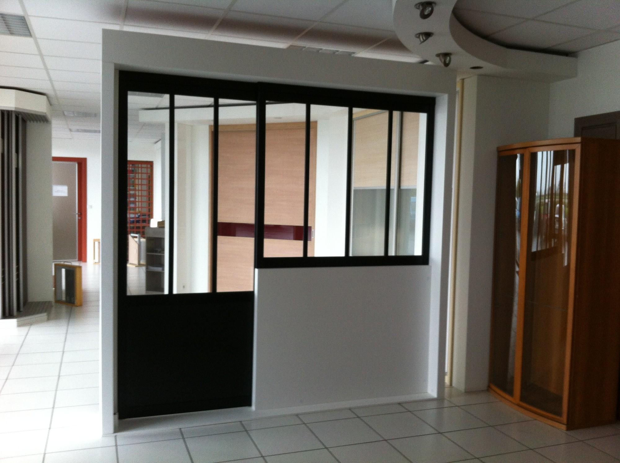 cloison de s paration vitr e nevez. Black Bedroom Furniture Sets. Home Design Ideas