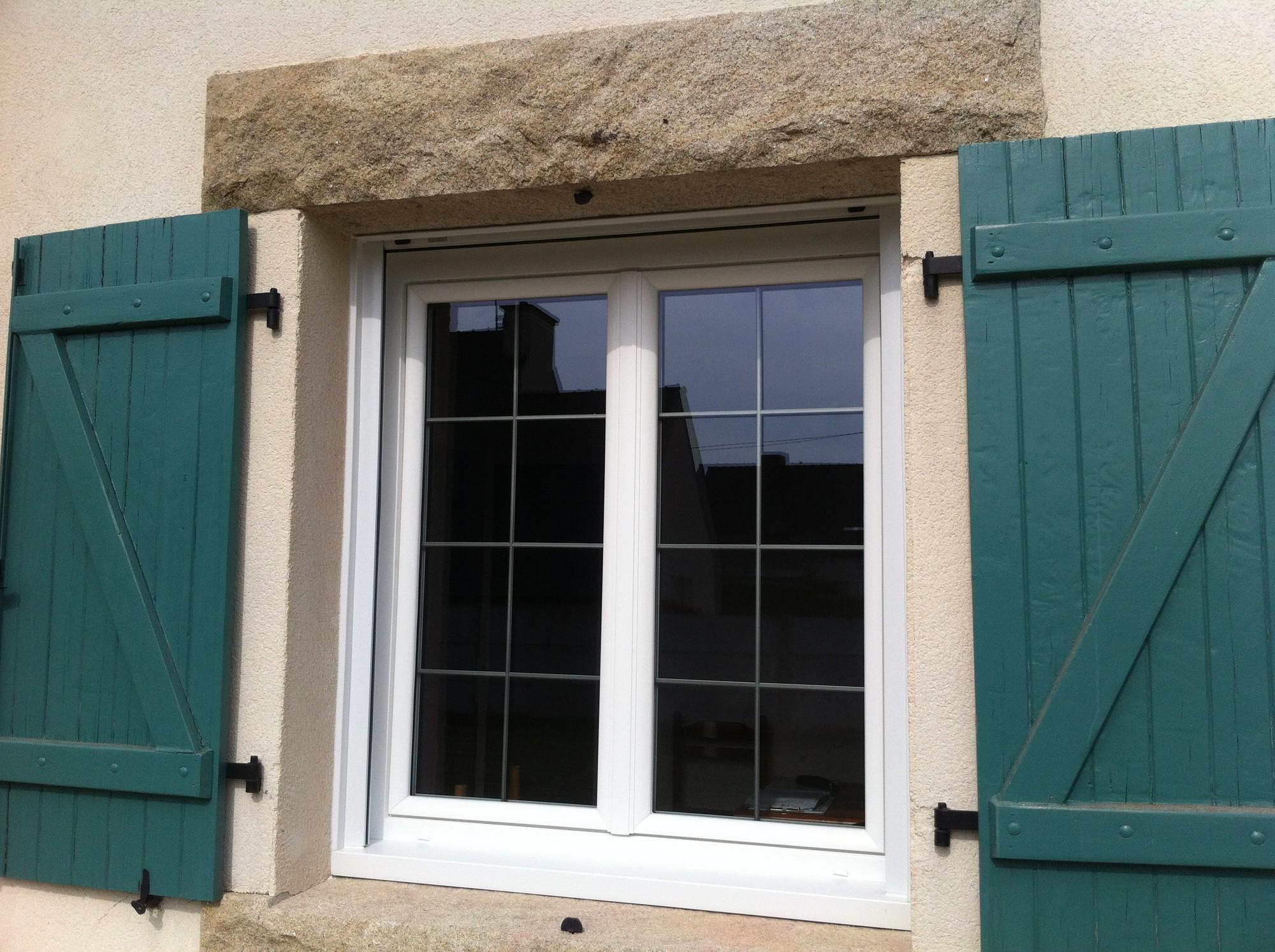 Fenêtres Pvc Avec Petits Bois Canon De Fusil Plérin Menuiserie